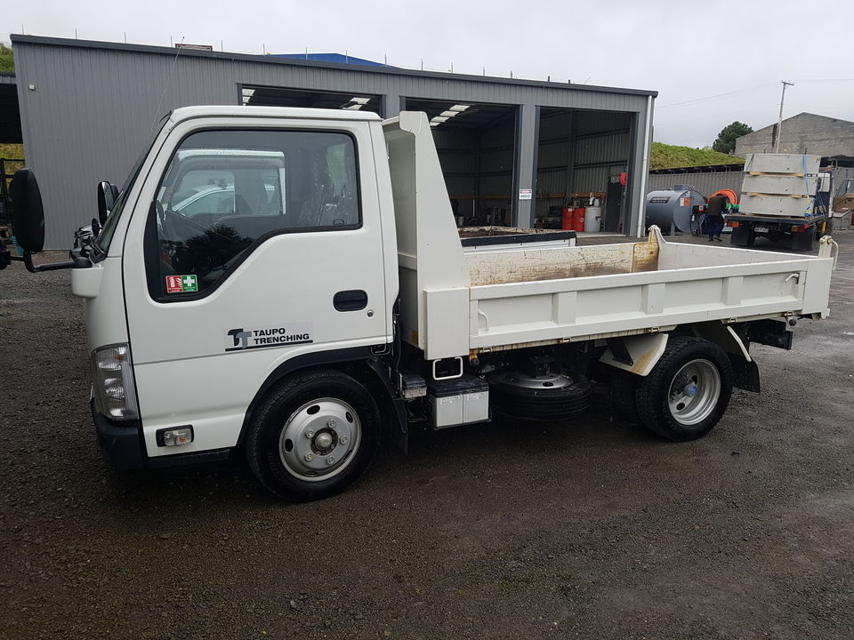 Small Tip Truck